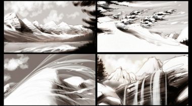 storyboard_beer_storyboarding_winter_snow_concept_art_terry_brown_Coor