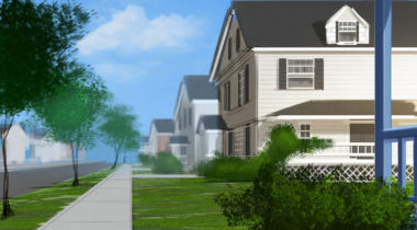 storyboard_storyboarding_concept_art_terry_brown_sidewalk_house