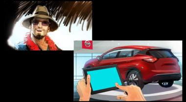 storyboard_storyboarding_storyboards_concept_art_terry_brown_car_Nissan